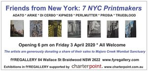 Friends from New York - 7 NYC Printmakers